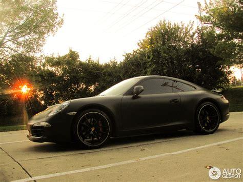 matte black porsche new porsche 911 carrera s shows off its curves in matte