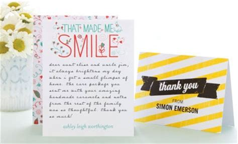 thank you cards to make free
