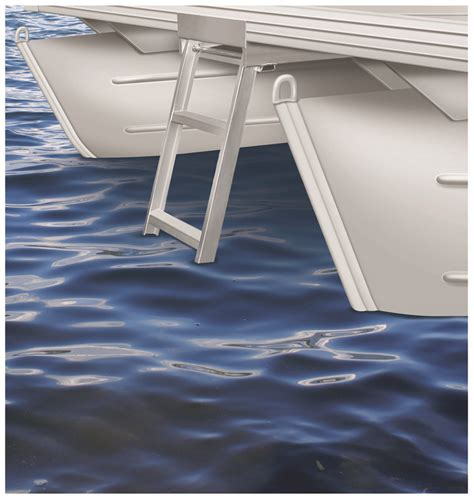 under deck mount pontoon ladder jif marine 4 or 5 step under deck mounting pontoon ladder