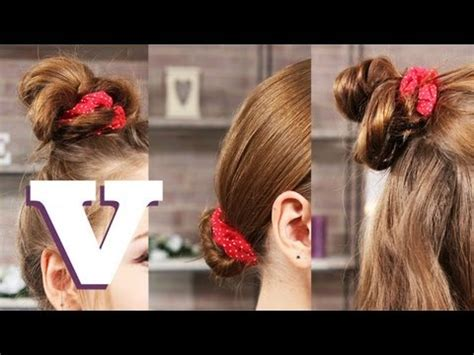 Wears A Scrunchie by 3 Ways To Wear A Hair Scrunchie Hair With Hollie S05e3 8