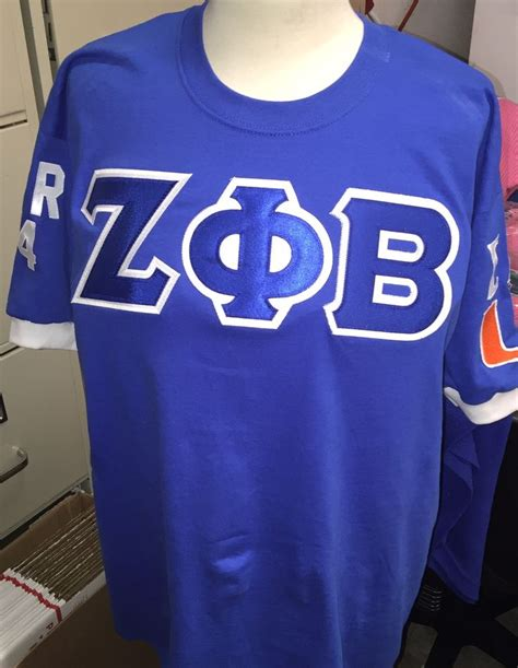 Zeta Phi Beta Letter Of Recommendation zeta phi beta crossing sewn letters on front back and