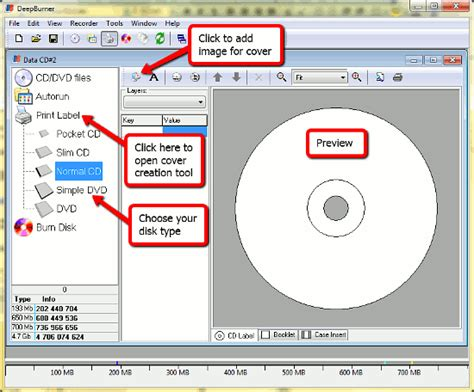 how to create a cd cover cd burning dvd burn