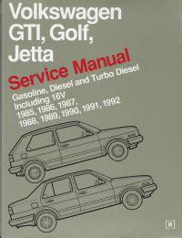 manual repair autos 1985 volkswagen jetta auto manual 1985 1992 volkswagen gti golf jetta original factory repair manual