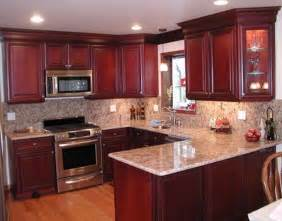 Cherry Kitchen Cabinets Kitchen Colors With Cherry Cabinets Desjar Interior