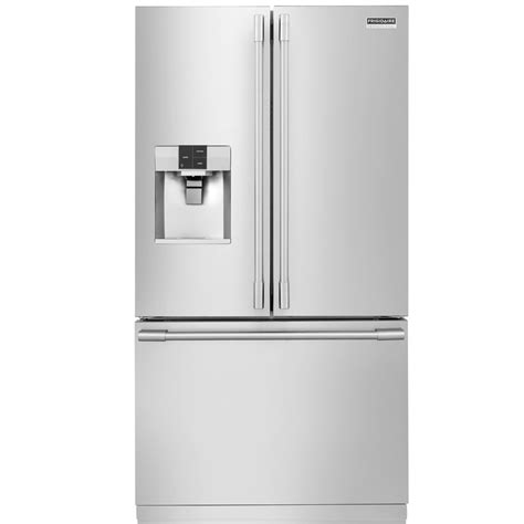 Counter Depth Door Refrigerator Stainless Steel by Shop Frigidaire Professional 22 6 Cu Ft Counter Depth