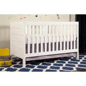 White Baby Cribs Walmart Baby Mod Modena 3 In 1 Fixed Side Crib Choose Your Finish Walmart