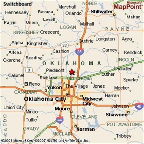 where is edmond oklahoma on the map edmond oklahoma