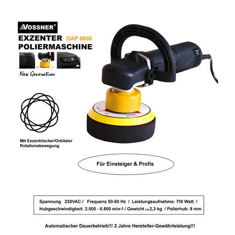 Auto Polieren Mit Exzenter Poliermaschine by Profi Exzenter Poliermaschine Auto Polierer