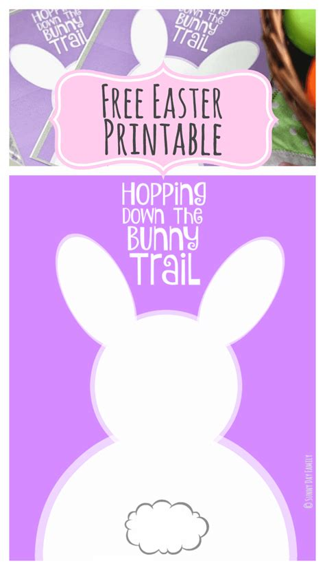 easter card templates print hopping the bunny trail free easter printables in