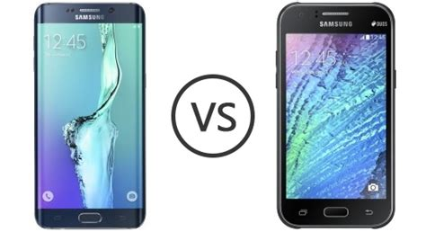 Hp Samsung Galaxy J1 Edge samsung galaxy s6 edge vs samsung galaxy j1 ace phone comparison