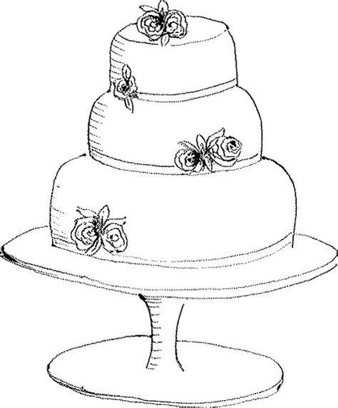 Hochzeitstorte Zeichnung by Fancy Cake Drawings