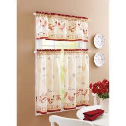 Rooster Curtains For Kitchen Gorgeous Rooster Kitchen Curtains To Perk Up The Kitchen
