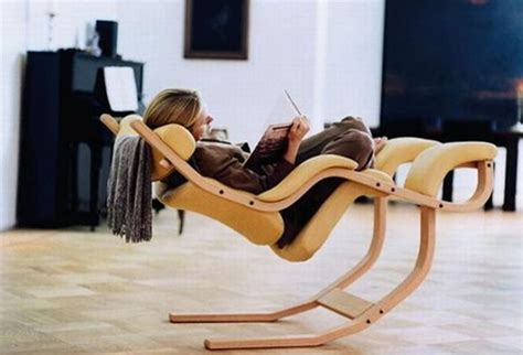 ergonomic reading chair modern and functional chair by peter opsvik home design
