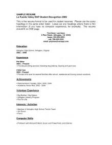 cv examples little experience 3 how to write a good resume with little experience