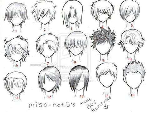 anime character template anime hair boy template anime anime
