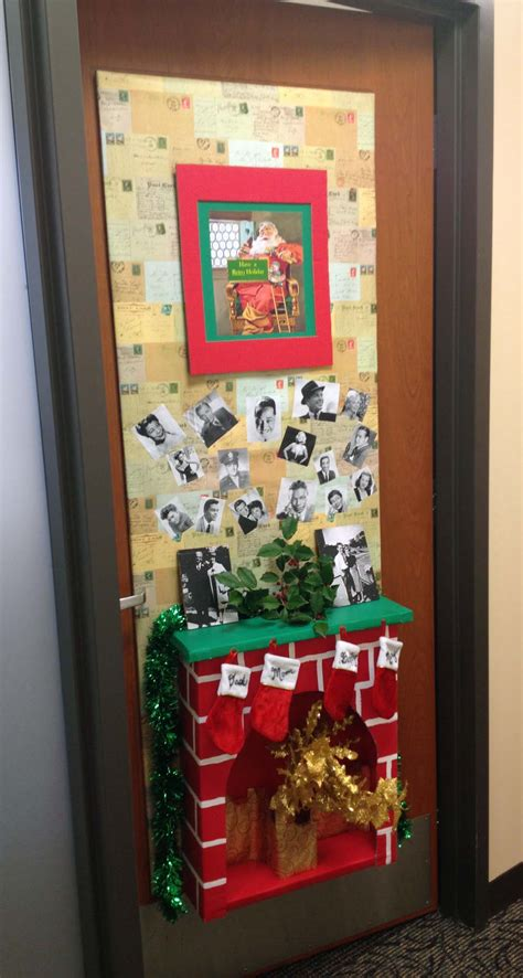 best christmas door decoration winners more fierce competition with the door contest a smith of all trades