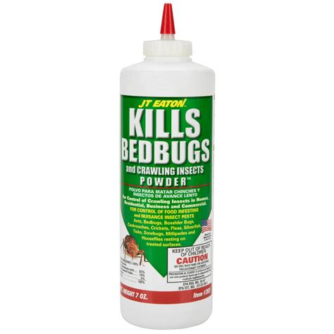 bed bugs powder jt eaton 203 7 oz bed bugs and crawling insects powder