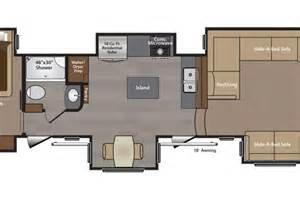 Montana Fifth Wheel Floor Plans by Toy Hauler Floor Plans Trend Home Design And Decor
