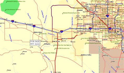 Maricopa County Property Records By Address Arlington Arizona 85326 Acreage W House For Sale On Landsofarizona 501120