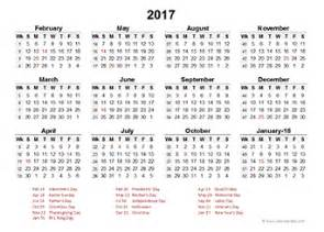 Week Wise Calendar 2018 2017 Accounting Calendar Templates Free