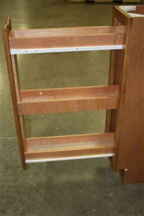 Cabinet Spice Rack Insert oak spice rack insert maple finish oak cabinet