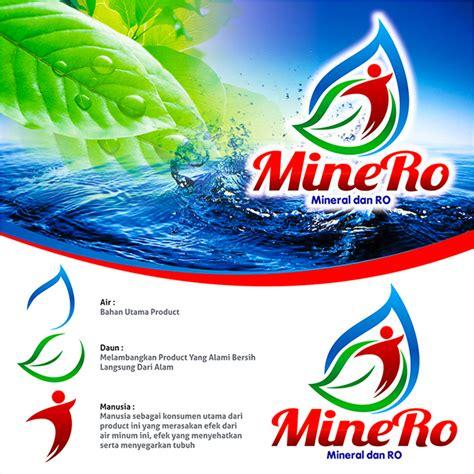 desain brosur air isi ulang sribu desain logo logo desain untuk air isi ulang galon