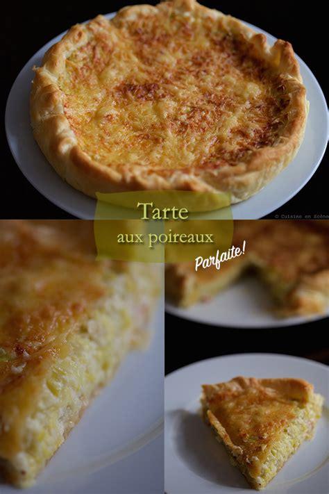 cuisine poireaux tarte aux poireaux cuisine en sc 232 ne le cuisine de