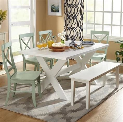 White Dining Room Furniture For Sale 10 Adorable White Dining Room Sets For Sale For Home Improvement