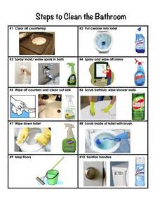 how to clean bathroom with steps to clean a bathroom domesticity at its finest