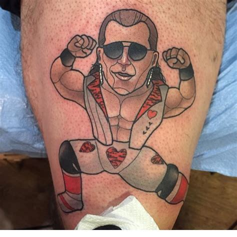 shawn michaels tattoo the chions of tattoos part two