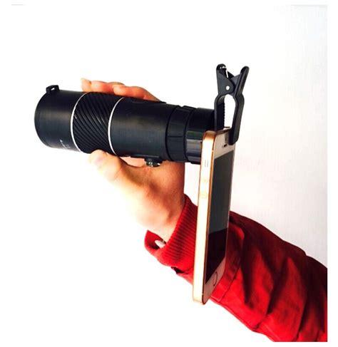 Smartphone Holder Untuk Teropong Binocular Monocular Telescope outdoor telescope universal phone holder monocular clip adapter convert cl smartphone frame