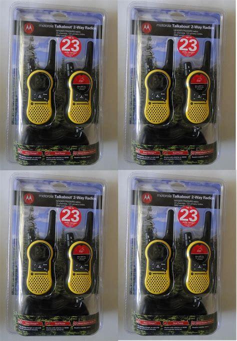 Motorola Mh230 motorola talkabout mh230r 8 pack two way radio set