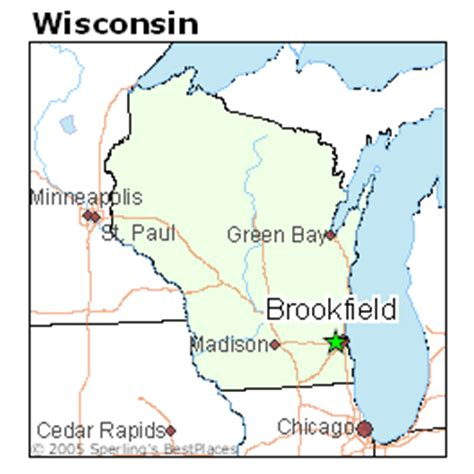 best places to live in brookfield wisconsin