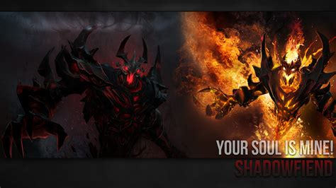 dota 2 nevermore arcana wallpaper shadowfiend wallpaper by imkb on deviantart