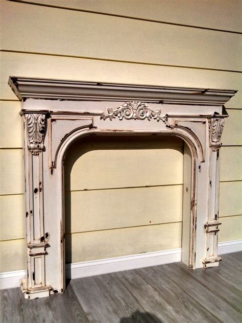 Vintage Fireplace Mantel by Vintage Country Farmhouse Fireplace Mantel Reproduction