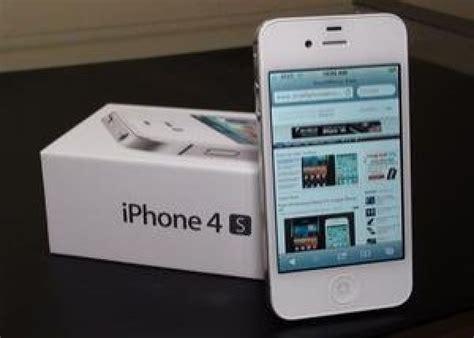 Iphone 4s 16gb Black White Original Garansi 1th iphone 4s 16gb white factory unlock