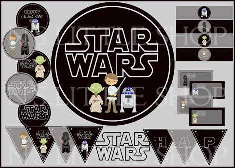 printable pictures star wars 7 best images of star wars birthday printables free
