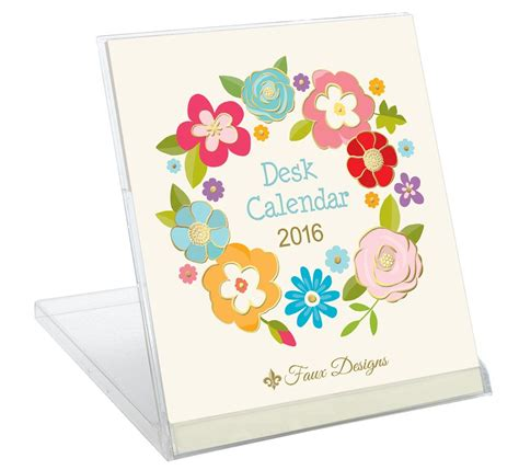 faux designs desk calendar 30 awesome and easy last minute gifts that your host