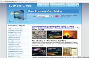 business card creator free best free business card maker digitophile