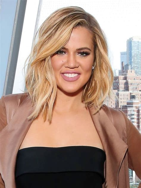 khloe kardashian s new lob 1000 images about hair beauty on pinterest wavy hair