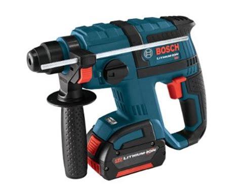 bosch 18v kits bosch rhh180 01 18v sds plus li ion rotary hammer kit