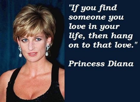 princess diana lovers if you find someone quote picture