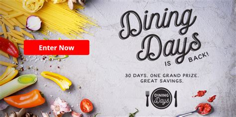 Aarp Sweepstakes 2017 - aarp september dining days sweepstakes
