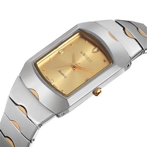 Jam Tangan Lanccelot Silver Gold weiqin jam tangan kasual wanita wei151617 silver gold