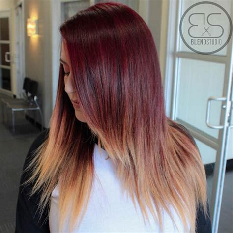 ombre hairstyles for long straight hair 26 stunning new red hair colour ideas popular haircuts