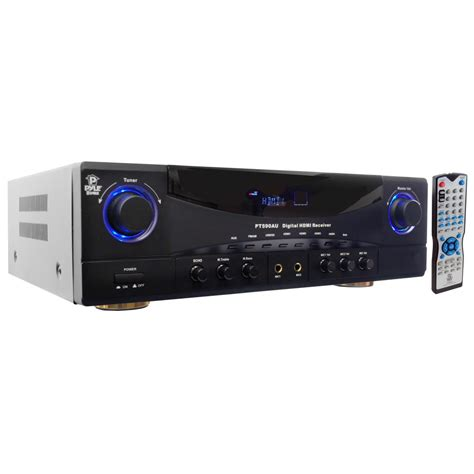 Home Theater Receiver pylehome pt590au home and office lifiers