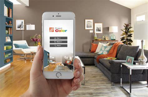 home depots project paint app adds color  omnichannel