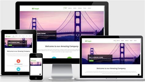 responsive layout in bootstrap multipurpose responsive template free download
