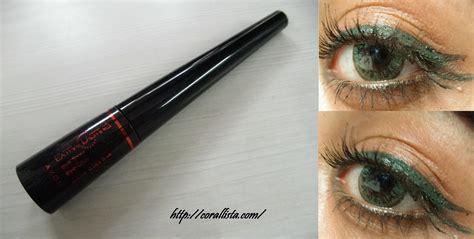 Eyeliner Avon avon extralasting eye liner green review swatch
