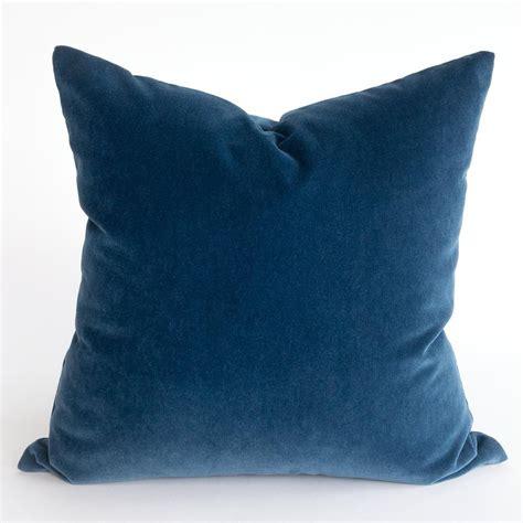 valentina velvet pillow ink tonic living